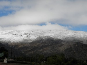 Matroosberg Snow 2nd April 2014