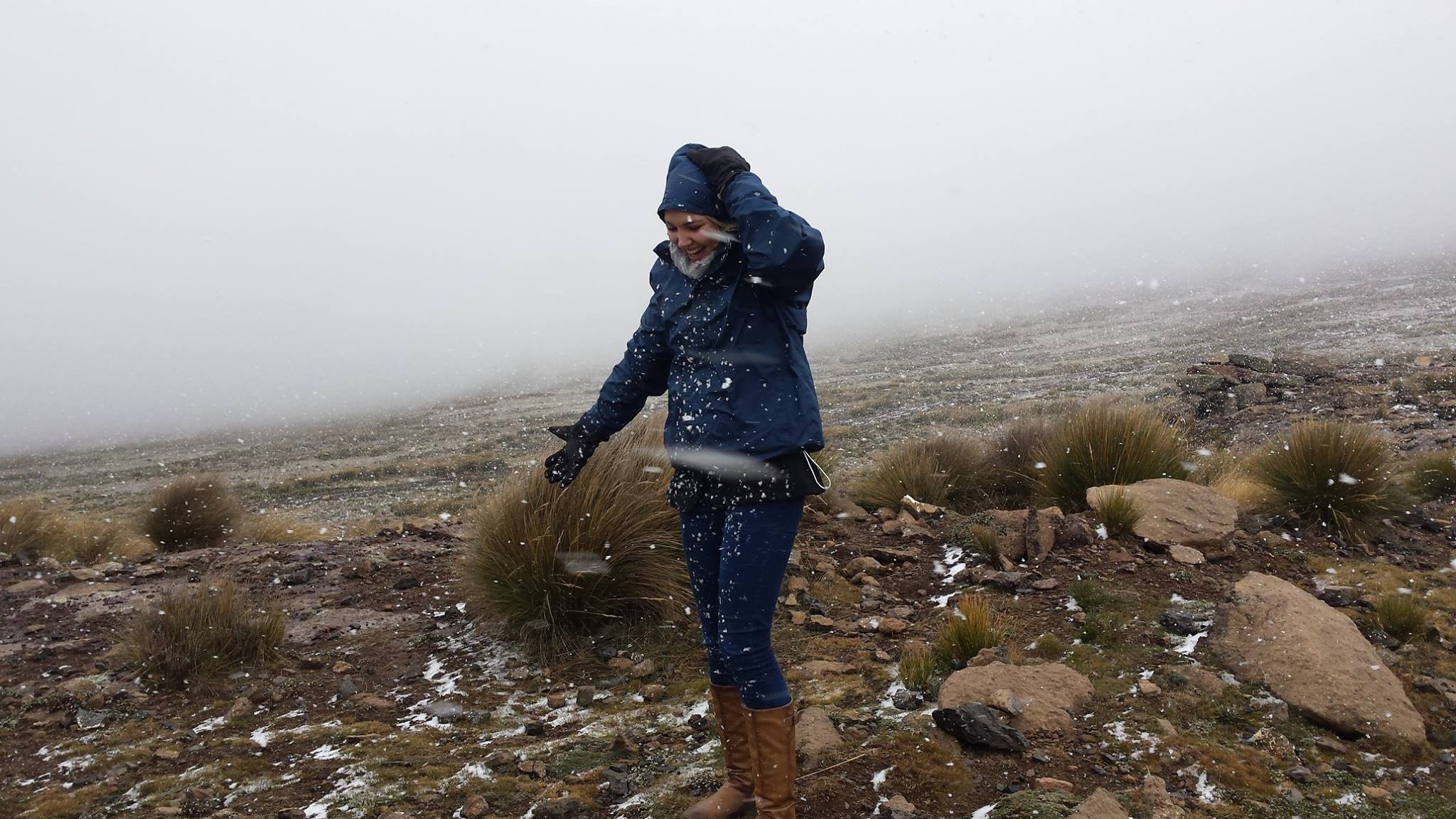 Sani Pass snow - photo from Brendan Daveys