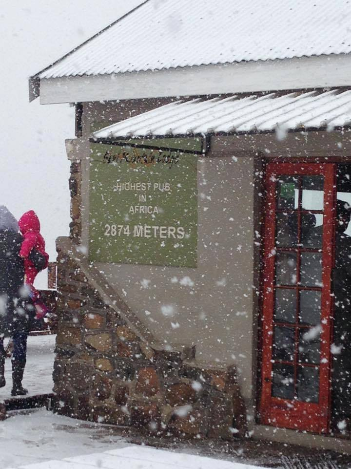 Sani Pass Snow - Tasha Storm 25 July 2015