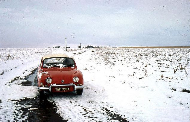 Snow 1964 On Wildfontein farm , near Carletonville via Herman Steyn