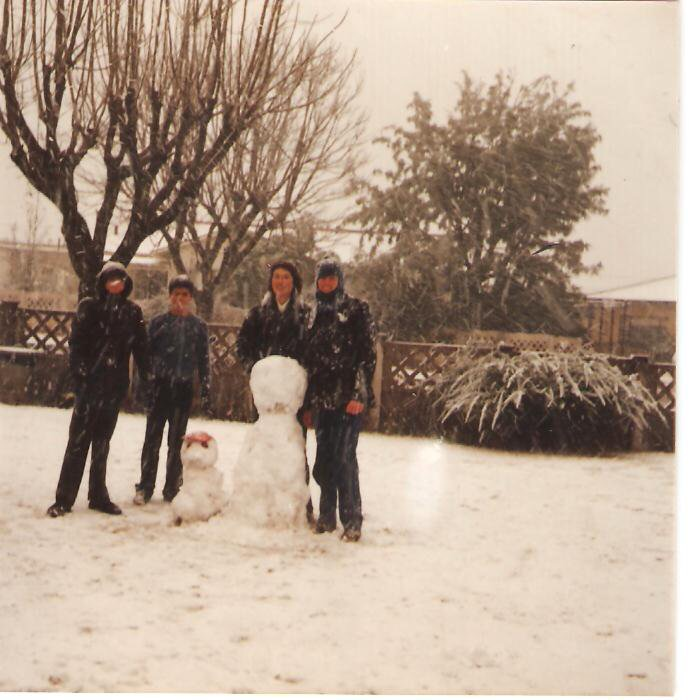 Witbank snow - 1981 - photo courtesy of Brian