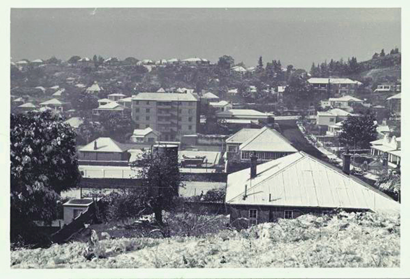 Snow in Kensington Johannesburg 1962 courtesy of Cathy James
