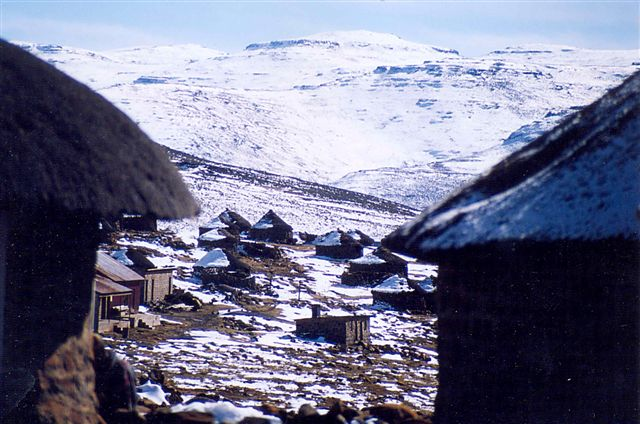 Top of Sani Pass June 2002