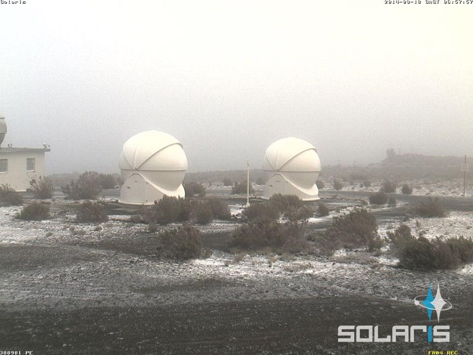 Snow Sightings WC, NC 18 September 2014