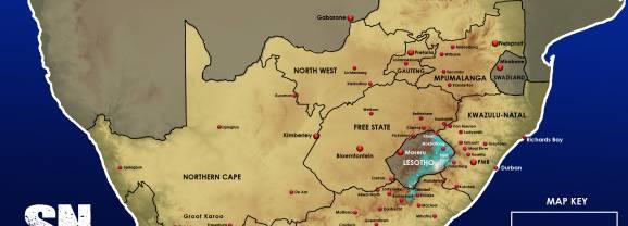 Updated Snow Forecast Lesotho, EC, KZN Drakensberg