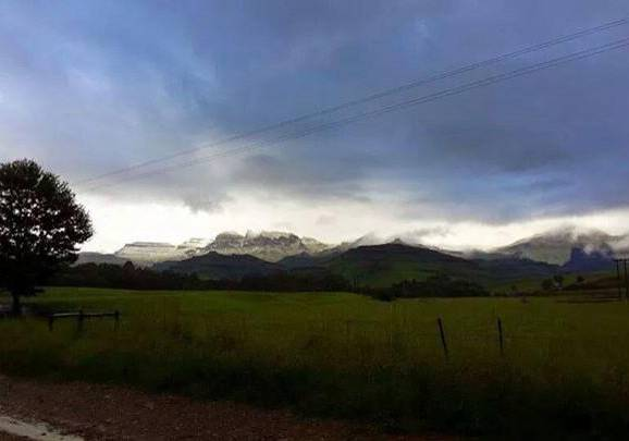 Snow in February! KZN Drakensberg
