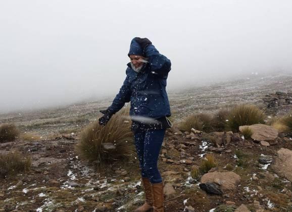 Lesotho : Unexpected Snow Storm : 19 April 2014