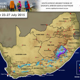 Snow Forecast 23-27 July 2015 (NC, WC, EC, Lesotho and KZN)