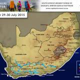 Snow Forecast : 29/30 July 2015