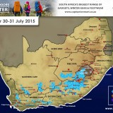 Latest Forecast : 30/31 July 2015 (WC,NC,EC, Free State and Lesotho)