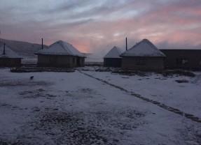 Snow on the Southern Drakensberg : 4 September 2015
