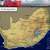 Possible Snow Across Mountains of South Africa and Lesotho – 29/30 April