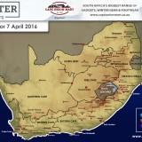 Lesotho: Snow Forecast 7 April 2016