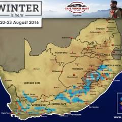 SA Snow Forecast – 20-23 August 2016