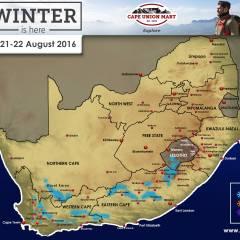 Snow Forecast: 21-22 August 2016