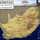Snow Forecast – 14 August 2016 WC
