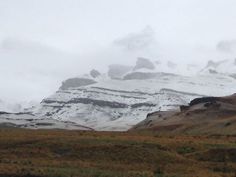 Snowing in Drakensberg gardens area very light only on mountain - Cindi Alborough [7:10am]