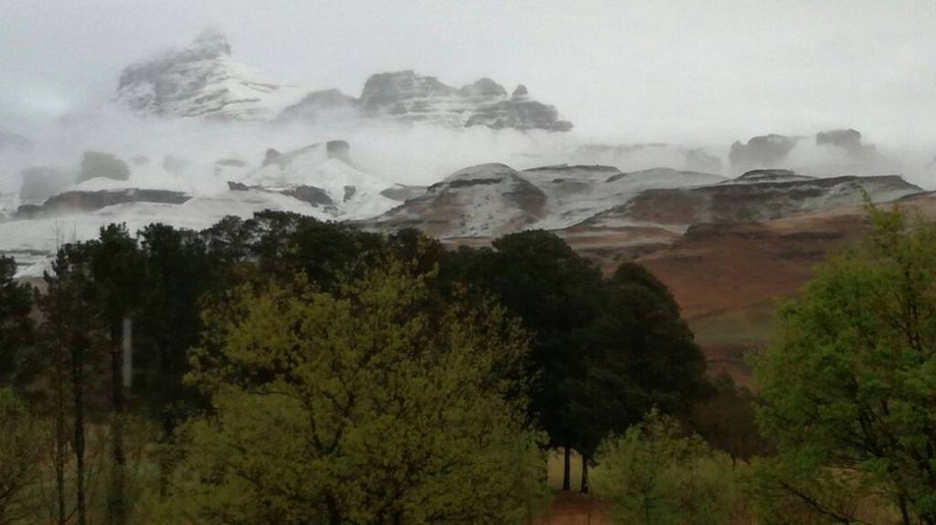 View from Fairways Drakensberg Gardens - Tong Cunningham