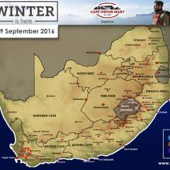 Snow Forecast: Possible Snow Over W Cape Mountains – 9 September 2016