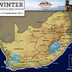 SA Snow Forecast 16-19 September 2016