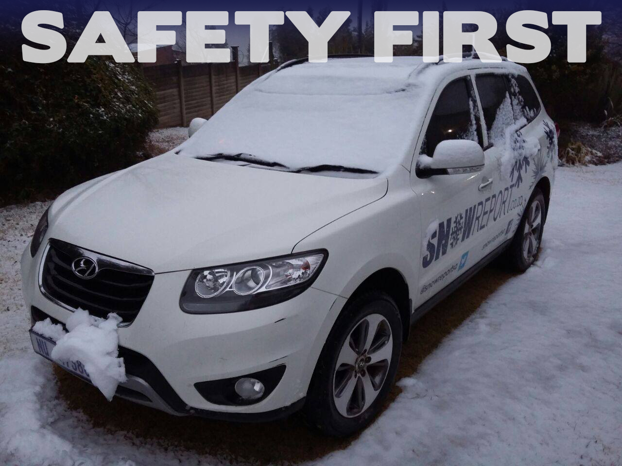 SnowReport SA – Safety First