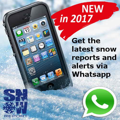 SnowReport Whatsapp Snow Alerts and Reports