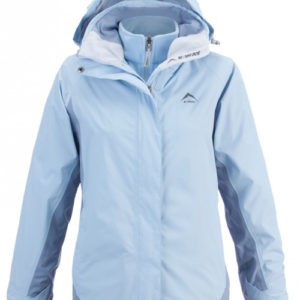 K-Way Womens Atlas 3-in-1 Travel Jacket