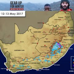 Snow Forecast for SA: 12-13 May 2017