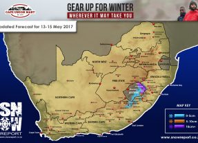 Updated Snow Forecast: 13-15 May 2-17