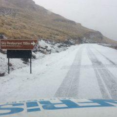 Snow Sightings – Lesotho 28 June 2017