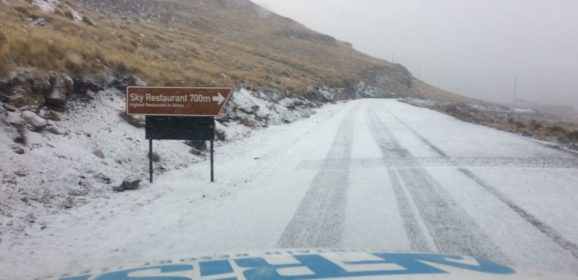 Snow Sightings – Lesotho 28 June 2017