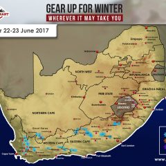 SA Snow Forecast for Thursday 22 – Friday 23 June 2017