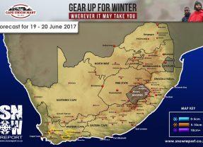Snow Forecast 19-20 June 2017