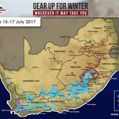 Snow Forecast: 15-17 July – W Cape, N Cape, E Cape, Lesotho