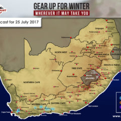Snow Forecast – 25 July, W Cape