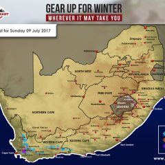 Snow Forecast – W Cape, Sun 9 July 2017