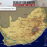 Snow Forecast: Western Cape, 25-26 September 2017