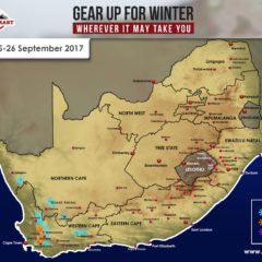 Snow Forecast: Western Cape, 25-26 September 2017