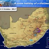 EC and Lesotho Snow forecast 4th – 5th October 2017