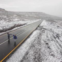 Surprise Snowfall In Lesotho – April 30, 2018