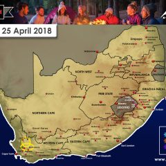 25 April – Snow on High Mountains Peaks of W Cape Expected Overnight