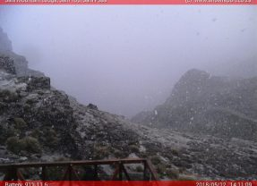 Snow Spotted in Lesotho today: 12 May 2018
