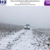 Snow Reports: W Cape, E Cape – 15 June 2018