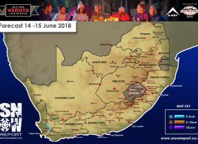 Snow Forecast: Western Cape 14-15 June 2018