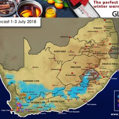 Updated Forecast – Very Little Snow For KZN Forecast 1-3 July 2018