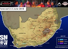 Snow Forecast 2nd/3rd June 2018