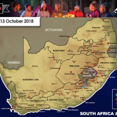 Snow Forecast: Eastern Cape, Lesotho, the Drakensberg: 12-13 October 2018