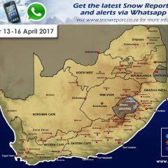 Snow Forecast : 13th – 16th April 2017