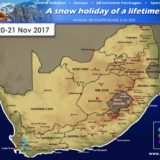Snow Forecast: W Cape 20-21 Nov 2017