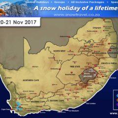 Snow Forecast: W Cape 20-21 Nov 2017